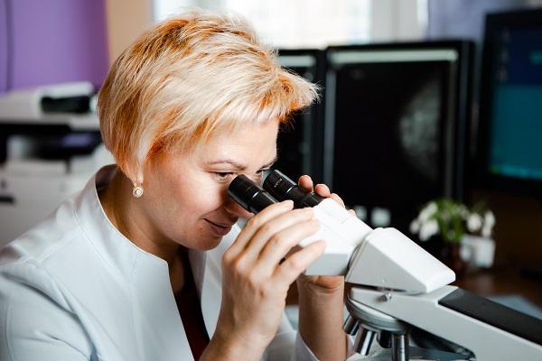 Контрастная маммография и криоабляция